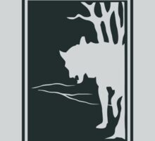 White Fang Jack London book cover Sticker