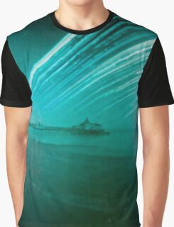 6 month exposure of Eastbourne pier Graphic T-Shirt