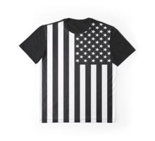 USA Two Tone Graphic T-Shirt