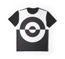 Two Tone Bullseye Horizontal Graphic T-Shirt