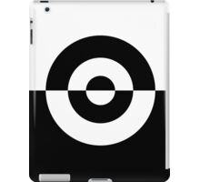 Two Tone Bullseye Horizontal iPad Case/Skin