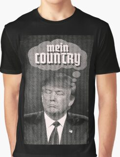 MEIN COUNTRY. Graphic T-Shirt