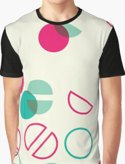 Simple colorful geometric pattern Graphic T-Shirt