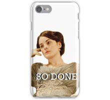 Lady Mary from Downton Abbey iPhone Case/Skin