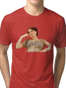 Lady Mary from Downton Abbey Tri-blend T-Shirt