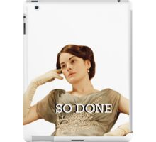Lady Mary from Downton Abbey iPad Case/Skin