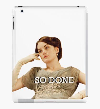 Lady Mary from Downton Abbey iPad Case/Skin