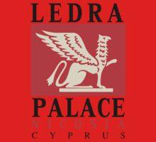 Retro vintage Ledra Palace Hotel Nicosia Cyprus One Piece - Long Sleeve
