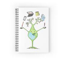 Career Juggling Neuron Spiral Notebook