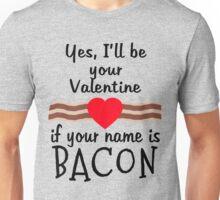 Anti Valentine BACON Funny Design Unisex T-Shirt