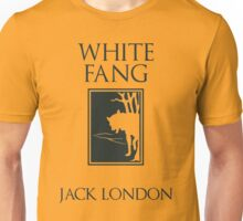 White Fang Jack London book cover Unisex T-Shirt