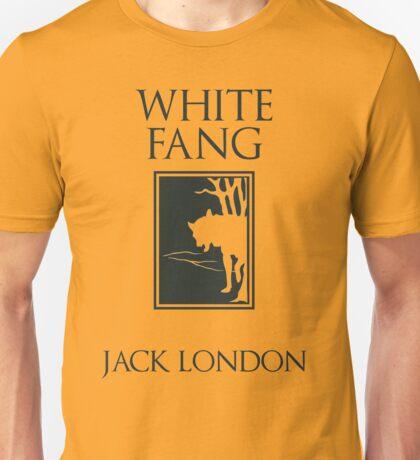 White Fang Jack London book cover Unisex T-Shirt