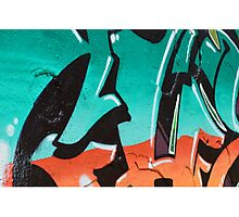 Bold graffiti design Photographic Print