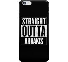 Straight Outta Arrakis iPhone Case/Skin