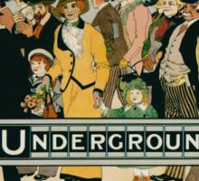 Vintage poster - London Underground Sticker