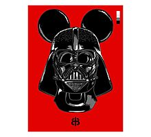 Vador Mouse Photographic Print