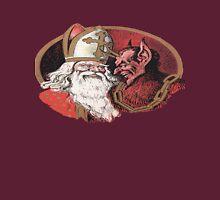 Saint Nicolas and Krampus Unisex T-Shirt