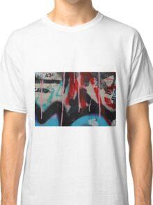 Graffiti with paint drips Classic T-Shirt