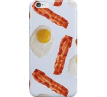 sausage, bacon and eggs iPhone Case/Skin