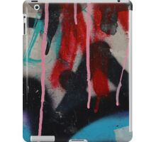 Graffiti with paint drips iPad Case/Skin