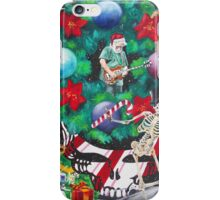 Christmas on the Moon iPhone Case/Skin