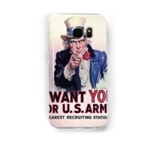 Uncle Sam, 1917 Samsung Galaxy Case/Skin