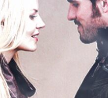 Captain Swan In One Picture Sticker