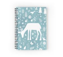 Deer in the Woods Spiral Notebook
