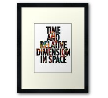Doctor Who - Tardis Framed Print