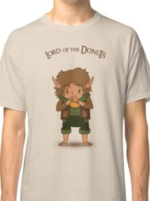 frodo, lord of the rings, donut Classic T-Shirt
