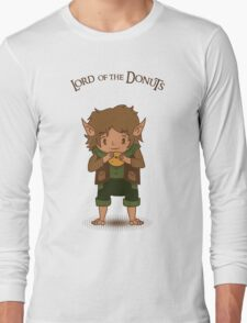 frodo, lord of the rings, donut Long Sleeve T-Shirt