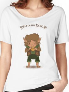 frodo, lord of the rings, donut Women's Relaxed Fit T-Shirt
