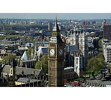 Big Ben - Great Bell - London Photographic Print