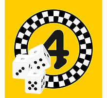 Bunco Dices - Table No Four VRS2 Photographic Print