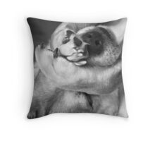 Just Napping Throw Pillow