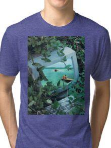 Living inside the box Tri-blend T-Shirt