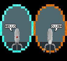 Hello Sentry! (No Logo) by Decimation008