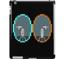 Hello Sentry! (No Logo) iPad Case/Skin