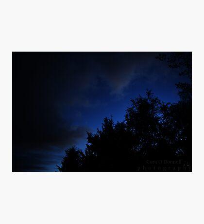 Dark Blue Sky Photographic Print