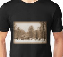 A Winter's Scene Unisex T-Shirt
