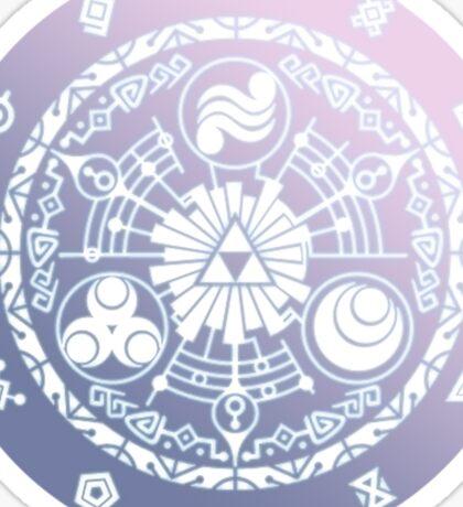 Legend Of Zelda Gate Of Time Sticker Sticker