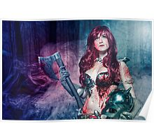 Red Sonja cosplay - after the bloodbath Poster