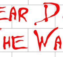 Pink Floyd - Tear Down the Wall Sticker
