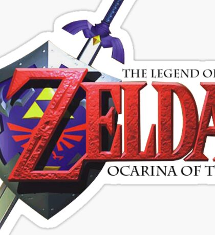 The Legend Of Zelda Ocarina Of Time Sticker