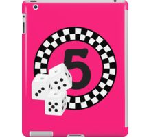 Bunco Dices - Table No Five VRS2 iPad Case/Skin
