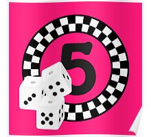 Bunco Dices - Table No Five VRS2 Poster