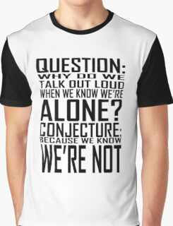 We're Not Graphic T-Shirt