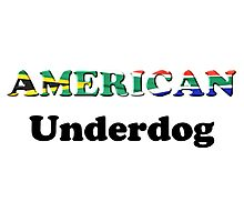 American Underdog - South Africa Photographic Print