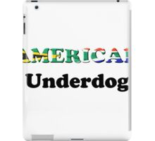 American Underdog - South Africa iPad Case/Skin