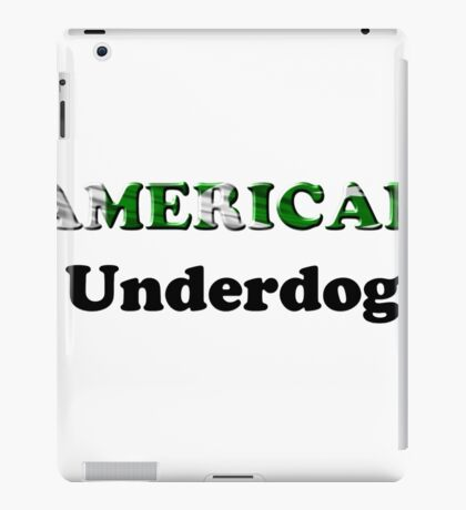 American Underdog - Pakistan iPad Case/Skin
